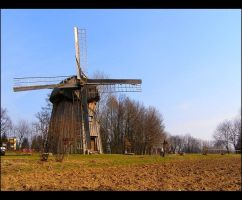 Old windmill by mysterious-one