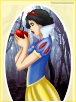 Commission: Snow White by 77Shaya77