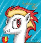 Lightening Flame OC by LyokoTravelsPegasus