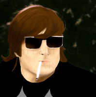 John Lennon by SharpAce