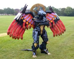 Amecon 2012 FFX Bahamut by Mangamad