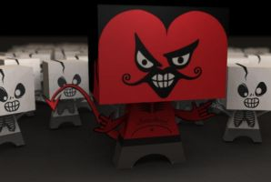 Paper Satan just for you by satansbrand