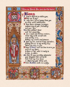 The Prayer of Thomas Becket by Theophilia