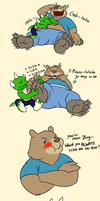 A Way to Cheer Bear Up by benj24