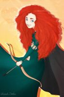 Merida by ribkaDory