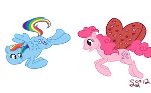 Pinkie Chase by Alipes