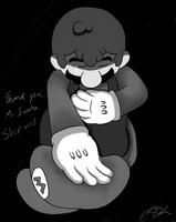 Hats off to you, Mr. Iwata. by Jazzy-Book