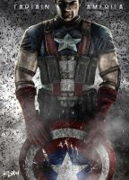 3D CAPTAIN AMERICA - AVENGE by isikol