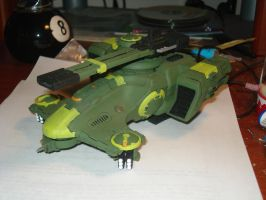 Warhammer 40k Hammerhead by moonpenguin