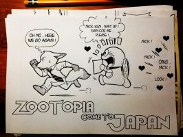 Zootopia come to Japan by doraemonbasil