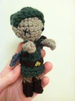 Amigurumi Zombie Link by NerdStitch