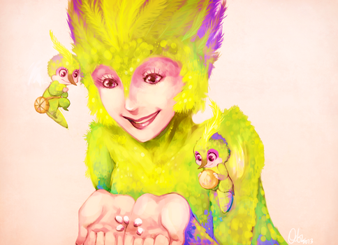 Tooth Fairy by Do0dlebugdebz