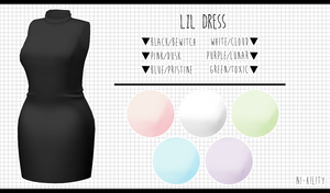 Lil Dress [DL ] by avant----garde
