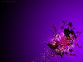 Violet Dream Wallpaper by HypnoticMystery