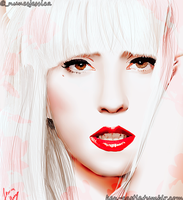 Lady Gaga by Prydonian-Poet