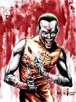 Joker gone MAD by jokercrazy