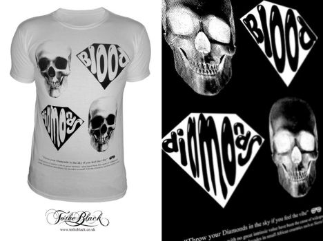 Blood Diamonds T-Shirt by troostar