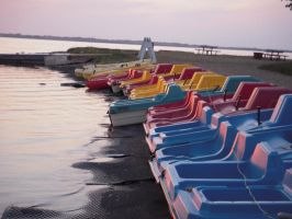 Stock 548 - Paddleboats by pink-stock