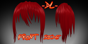 Hair #2 -DL- by TehPuroisen