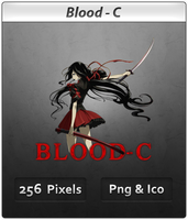 Blood-C - Anime Icon by DevilL-Dante
