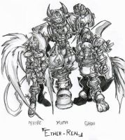 Sonic heroes - Ether-Real team by wrexodus