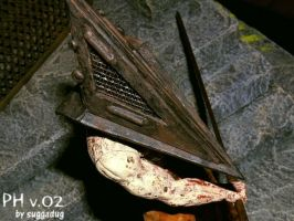 Pyramid Head detail by suggadug