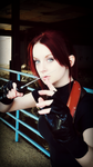 Last Resort-RE2 Claire Redfield Cosplay by Hamm-Sammich