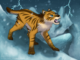 Roaring In The Storm by DOLFIY