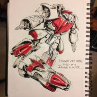 March of Robots 8/31 by Mecha-Zone