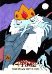 Ice King as Dracula by soliton