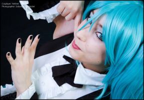Hatsune Miku - Vocaloid by Neferet-Cosplay