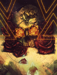 Skull And Roses by ThunderBR