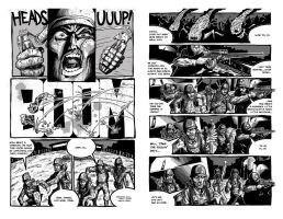 FUBAR 2 short pages 3 and 4 by thebigbraintheory