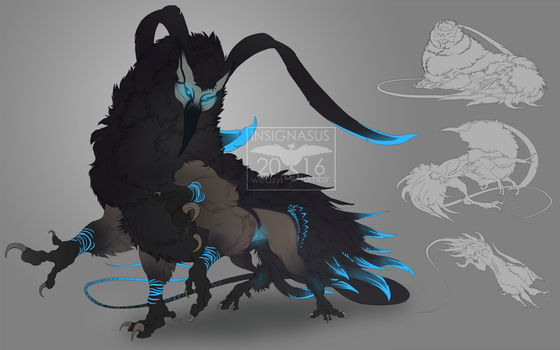 Character page: Acerion by Insignasus
