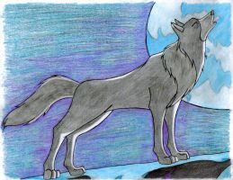 White Fang by WolfyPaws