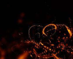Molten Highway 1280x1024 by fusionsa