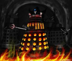Dalek Inquisitor General +Re-Upload+ by RedWryvenArt