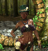 Voodoo Queen by MadamGoth