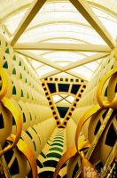 Burj Al Arab Interior by MortuusHyperion