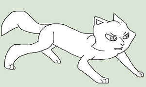 Crouching Male Longhair Cat by skyclan199