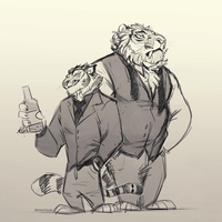 Gentletigers by BearlyFeline