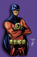 Marcio Takara Red Robin Color by JPVilchisartist