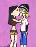 Heather and Jude kissing by DJgames