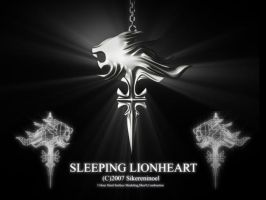 Sleeping lionheart by sikereninoel