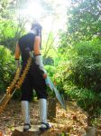 Zabuza Momochi the demon of the hidden mistvillage by IGrayI