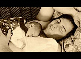 Ziva and her dad ll by niwaj