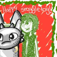 Happy Snoggletog by Leneeh