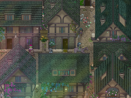 RPG Maker's Medieval Town by AlJeit