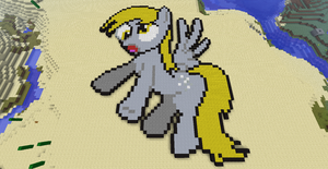 Mincraft- Derpy Hooves by Angel-Molina
