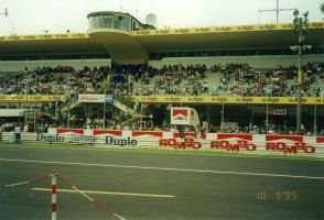 Monza Grandstand by F1-history